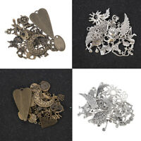 Mixed Styles 50g/Pack Vintage Metal Charms Pendant For DIY Jewelry Making Crafts