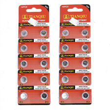 20 X 1.55V AG5 / 393A / LR754 / LR48 Alkaline Cell Button Watch Toy Battery