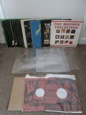 """Lot of 29 Outer 12"""" Singles Albums Card Plastic Sleeves Covers"""