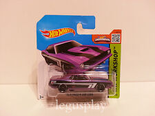 "Coche Mattel Hot Wheels CFH89 '70 Plymouth AAR Cuda 1/64 ""HW Workshop"""
