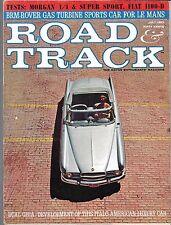 ROAD & TRACK MAGAZINE JULY 1963 (VG+) MORGAN 4 / 4