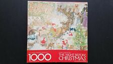 Springbok Puzzle 1000 Pc Night Before Christmas #5902 Clement Moore Complete