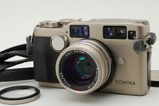 Contax G2 Rangefinder w/Carl zeiss Planner 45mm f2 lens [Very good+] from japan