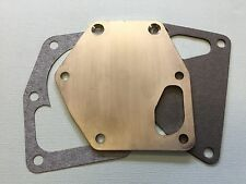 Daimler DB18 Stainless Steel Water Pump Backplate