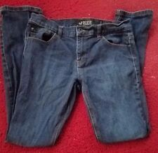 XXX Rude Mens Size 30 x 32 Slim Straight Leg 5 Pockets Skinny Blue Jeans Rare