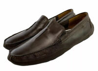 Clarks Collection Driving Loafers Brown Leather  Shoes Men's Size Us 11 M