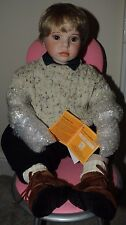 'Oliver' Limited Edition 26 inch porcelain doll by Celia Dolls - 159 of only 200