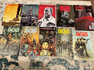The walking dead # 192,193, deluxe # 1-5,Negan lives #1,and the alien HC