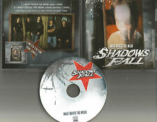 SHADOWS FALL What drive the Weak w/ EDIT & VIDEO PROMO DJ CD single Damageplan