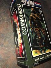 GI Joe SIDESHOW 1/6 SCALE SNAKE EYES Commando Figure MIB 2009 SEE PHOTOS!