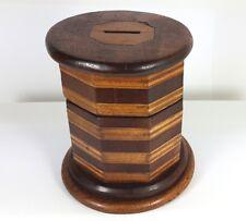 Money Box, Wood, Switzerland, Ca.1830 - 1840 AL529