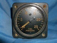 Ww2 RAF USAAF P51 Mustang Fuel Pressure Gauge