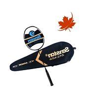 Lightweight Badminton Racket w/Full Carbon Fiber Material,Includes Badminton Bag