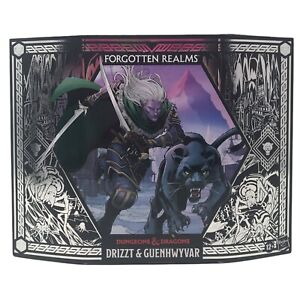Dungeons And Dragons Forgotten Realms Drizzt & Guenhwyvar 6-Inch Exclusive NIB