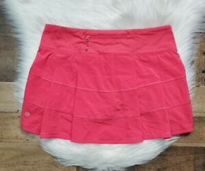 Lululemon Pace Rival Skirt Skort Women's Size 6 Golf Tennis Running