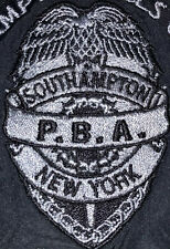 South Hampton Police Department Suffolk County Sweatshirt PBA Sz XL NYPD New