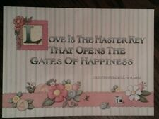 New Mary Engelbreit Love is the Key Congratulations Wedding Bride Card Orig Env