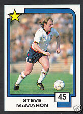PANINI CALCIO CARD - 1988 SUPERSTARS CALCIO-N. 45-Steve McMahon-Inghilterra
