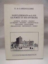 sp/29 - E. de LABEDOLLIERE - SAINT GERMAIN EN LAYE  - 1992
