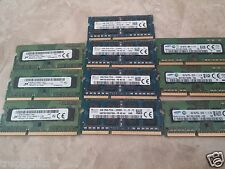 4GB DDR3-1600 1.35V SODIMM PC3-12800 204-PIN NON-ECC UNBUFFERED notebook memory