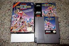 Double Dragon II 2: The Revenge (Nintendo NES, 1990) Complete in Box C FAIR