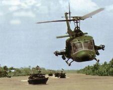 Vietnam War U.S. Army Huey Air Support For Navy Saigon River Basin 8.5x11 Photo