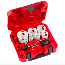 Milwaukee Bi Metal Hole Saw Kit 14 Piece General Purpose Cutter Drill Bits Tool