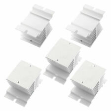 5PCS Aluminium Heat Sink Heatsink Cooling Fin for Solid State Relay SSR