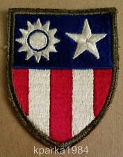 WW2 ERA US ARMY CBI CHINA BURMA INDIA THEATER PATCH OD