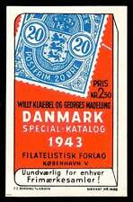 Denmark Poster Stamp - Mærkat #1468 - 1943 Stamp Catalog - Stamp-On-Stamp