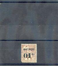 MARTINIQUE Sc 10(YT 8)*F-VF HR 1888 01/4c  $36
