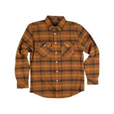 MATIX Becker Flannel Shirt (M) Army