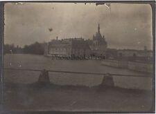 Chantilly Le Château France Vintage argentique ca 1910