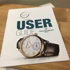Frederique Constant User Guide SMARTWATCH BOOK