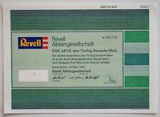 alte Aktie  / REVELL - Modellbau AG / Historisches Wertpapier Hobby Geschenkidee