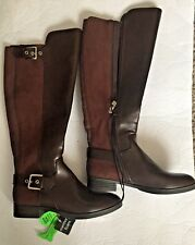 5ba9ab0a5f6e New Listing Womens Liz Claiborne Dallas Riding Style Fashion Boots. Brown.  Size 5 M