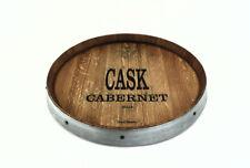 Wine Barrel Lazy Susan Handmade Cask Cabernet