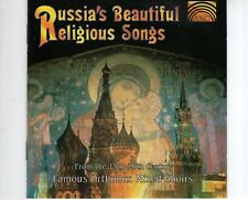 CD RUSSIA'S BEAUTIFUL RELIGIOUS SONGSfrom the 15th-20the centuryNEAR   (R1184)