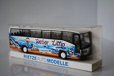 RIETZE AUTOMODELLE BUS AUTOCAR MERCEDES 0 404 RHD HO 1/87 TBE  EN BOITE