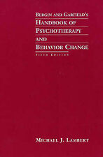 Bergin and Garfield's Handbook of Psychotherapy and Behavior Change by Michael