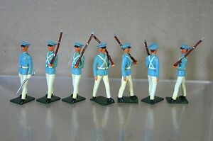 REPLICA MODELS PATRICK CAMPBELL BRITAINS VENEZELIAN CADETS MARCHING x 7 mv