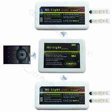 WiFi+2x Dual White LED Controller -RF 2.4G Phone Color Temperature Adjust Dimmer