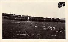 Crowborough Camp. Singing the Morning Hymn, Church Parade # 1 by C.H..