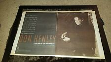 Don Henley The End Of The Innocence Rare Original Radio Promo Poster Ad Framed!