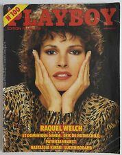 Playboy n°100- 1982 Erotisme Charme - Raquel Welch Nastassia Kinski