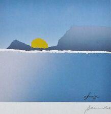 "ARTHUR SECUNDA "" Locarno  "" 1983 HAND SIGNED NUMBERED ORIGINAL SERIGRAPH"