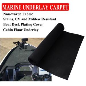 Slippy Proof Marine Carpet Boat Yacht Under Felt Mat Cabin Deck Plating 2Mx1.2M