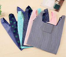Reusable Foldable Recycle Grocery Shopping Carry Bags Tote Handbags Eco AU Stock