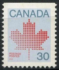 Canada 1981 SG # 1032A, 30c Maple Leaf MNH p12x12.5 TOP Imperf #D 7051