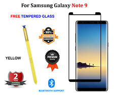 For Samsung Galaxy NOTE 9 S Pen + FREE Tempered Glass Stylus Bluetooth - YELLOW